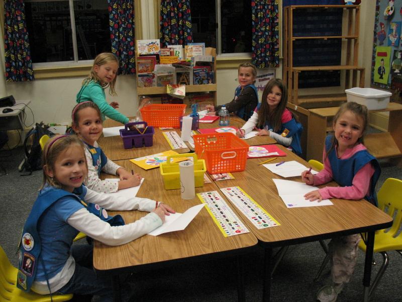 Kinder Elementary Schoo Daisy Troopl in Miamisburg, '09