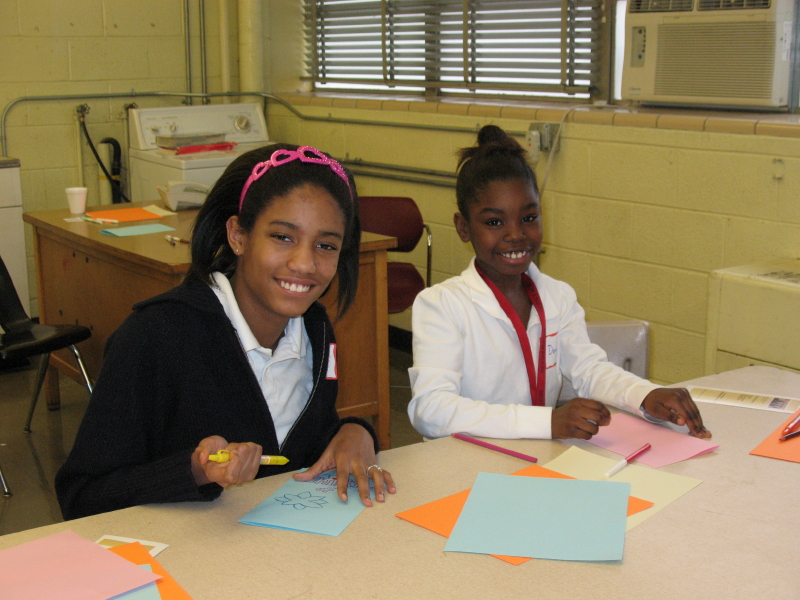 Leadership Class at Edison Elementary/Middle School in Dayton, '09